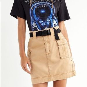 Urban outfitters Mona utility Military Skirt